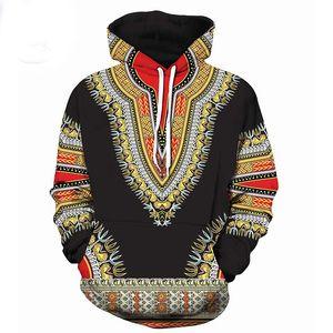 3D Traditional Print Hoodies Men Women 2018 Fashion African Dashiki Hoodie Sweatshirts Men Hip Hop Streetwear Hoody Tracksuit