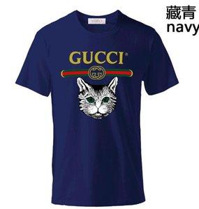 Camiseta del verano de Hip Hop Hombres Mujeres T del gato camisa de la serpiente de abeja rugido orangután mono para hombre estilista camiseta de manga corta Tamaño S-6X