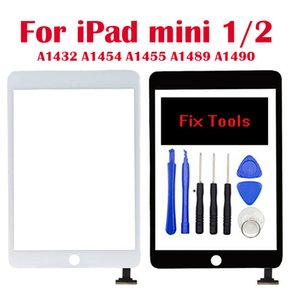 For iPad mini 1 mini 2 Touch Screen Digitizer Assembly Touch panel replacement Home Button A1432 A1454 A1455 A1489 A1490 A149