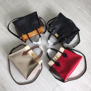 내 옆에 어깨 핸드백에 5A 최고 품질 M53826 소 가죽 메신저 가방 M53823 통근 가방 가죽 크로스 바디 백은 상자 가방을 올려 놓