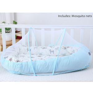 Детские Alcofa Nest Bed Портативный шпаргалки путешествия Кровать малышей хлопка Cradle Переносной Люлька для новорожденных Детские кроватки бампер