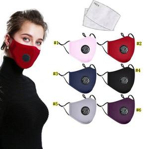 얼굴 마스크 패션 남여 호흡 밸브 PM2.5 입 먼지 방지 안티 오염이 필터 마스크 입-머플 MMA3320D을 넣을 수 마스크