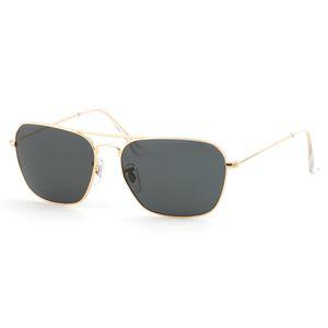 Top quality 3136 brand designer Fashion Rectangle Sunglasses Men Women Eyewear Sun Glasses Metal frame Glass Lens with Retail box and label