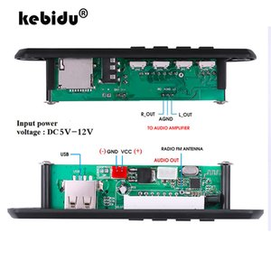 Cheap MP3 Player kebidu Bluetooth 5.0 MP3 Player Decoder Board FM Radio TF USB 3.5 mm AUX Module Bluetooth Receiver Car kit