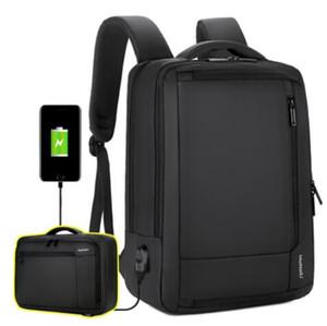 Sacs à dos de voyage unisexe pour Casual Daypacks Anti Theft Sac Voyage d'affaires Big 17 pouces pour ordinateur portable Sacs à dos pour ordinateur Hommes Femmes
