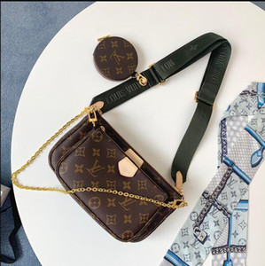 Heiße verkaufende hohe Qualität Die neueste Männer und Frauen Schultertasche Messenger Bag Schulter tragbare Brieftasche Rucksack freies Porto M44813