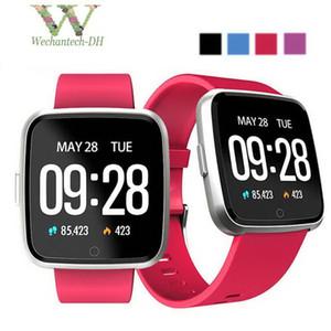 Y7 Smart Watch IP67 Braccialetto fitness impermeabile Cardiofrequenzimetro Polsino Fitness Tracker Uomo Donna Smartwatch Orologio sportivo