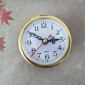 L'oro all'ingrosso di fuori di colore 5PCS del diametro fuori l'orologio di inserto del quarzo di 80mm ha integrato gli strumenti di DIY Trasporto libero