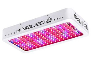 Kingled نمو الخفيفة 1200W الكثير من الأوراق المالية مزدوجة رقائق كامل الطيف LED نمو الخفيفة للتربة البيوت البلاستيكية