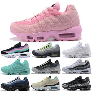 Nike Air Max 95 Shoes Running Schuhe Herren Damen Throwback Future Greedy Triple Weiß Gelb Pull Tab Schwarz Rot Bred Designer Sports Sneakers 36-45