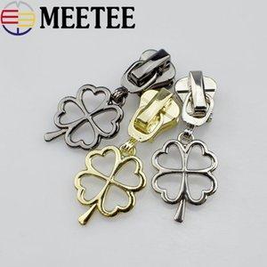 MeeTee 3 # 5 # Fix Zip una cremallera DIY deslizante reemplazo Kit de reparación para la capa Bolsas Monedero Maleta de costura Accesorios para herramientas F2-7