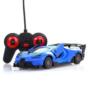 Großhandel-1/24 Drift Geschwindigkeit Radio Fernbedienung Auto RC RTR TRUP RACING Auto Spielzeug Weihnachten Geschenk Fernbedienung RC Autos