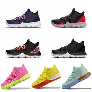 2020 Yeni Geliş Çocuklar Kyrie 5 Ayakkabı TV PE Basketbol Ayakkabı Ucuz 20. Yıldönümü Sünger için 5 Irving'in 5s V Beş Luxury Spor Sneakers x