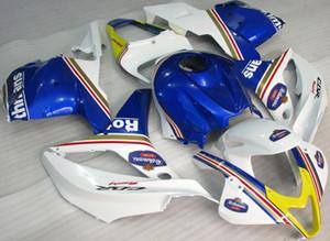 4Gifts Neue ABS Spritzguss Motorrad Verkleidungen Kits 100% Fit Für Honda CBR600RR F5 09 10 11 12 2009-2012 Verkleidungssatz Benutzerdefinierte weiß gelb