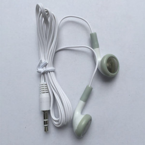 Cheapest Disposable Earphone Low Cost Earbuds 3.5mm music Headphone Headset mp3 mp4 For apple nano iphone cell phone