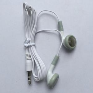 사과 나노 아이폰 휴대 전화의 경우 저렴한 일회용 이어폰 저가 이어폰 3.5mm의 음악 헤드폰 헤드셋 MP3 또는 MP4