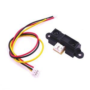 1Set Sharp IR-Sensor GP2Y0A21YK0F Mess ermittelnabstands 10 bis 80 cm mit Kabel