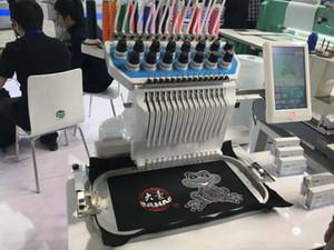 BF-1500 новейший Дахао управления готовой одежды и крышки коммерческих 15 цветов одной головы компьютеризированная вышивальная машина