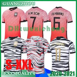 2020 2021 South Korea soccer Jerseys SON 7 SON HUN KWON LEE KIM HO SON HYUNG KIM HOME AWAY 2021 21 JERSEY KIT FOOTBALL SHIRTS