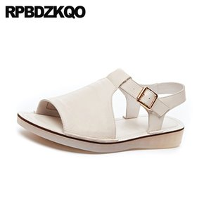 comfortable 2019 fashion designer ladies black shoes women sandals flat casual slingback open toe pink female peep summer beige