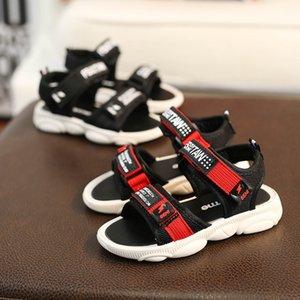 Novos Meninos Sandálias de Verão Crianças Sapatilhas Crianças Sapatos de Praia Não-deslizamento Sapatos de Caminhada Ocasional Do Estudante Moda Suave Sapatos Baixos Size26-36