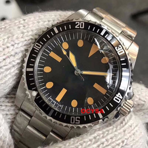 빈티지 럭셔리 남성 폴 뉴먼 기계 자동 스테인레스 스틸 남성 시계 디자이너 손목 시계 reloj 시계