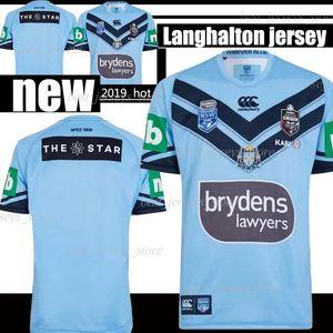 2019 고지 훈련 셔츠 크기에 Lanholton 홈 럭비 유니폼 스타디움 슈퍼 NRL 저지 : S-3XL