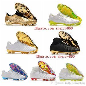 2018 futbol krampon kelime fincan Tiempo Legend VII FG en ucuz futbol ayakkabıları Hypervenom Phantom III DF futbol ayakkabıları MAGISTA Obra II mens