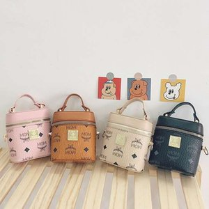 2020 baby girls mini bucket handbags kids designer handbags children princess coin purse girls lipstick bags mini purses