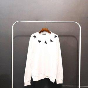 Lüks Erkek Tasarımcı Hoodie Ceket Erkek Tasarımcı Yüksek Kalite Yıldız Sweashirt Erkekler Kadınlar Kazak Uzun Kollu Boyut M-2XL yazdır