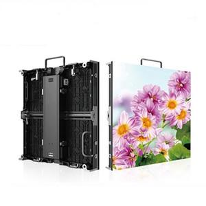 Indoor P4.81 Druckguss-Aluminium Kabinett 500x1000mm Ultra Slim HD 1R1G1B 3in1 Vollfarb-LED Display Panel LED Video-Panel