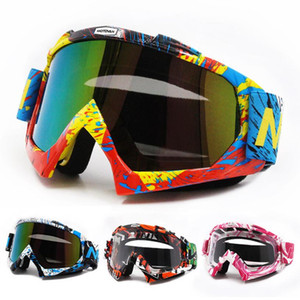 Motorcycle Glasses Riding Cycling Motocross Outdoor Eyewear Windproof Downhill Colorful Ski Goggles Glasses for Men Women
