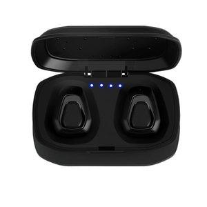 Новая беспроводная Bluetooth-гарнитура Стерео Handfree Спортивные Bluetooth-наушники с зарядным устройством для iphone Android PK X2T i7 / i7s (розничная торговля)