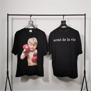 Acme de la Vie ADLV marca de diseño de calidad superior Hombres Mujeres camiseta impresión de la moda camisetas de manga corta # 2033