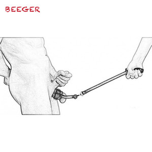 Beeger Ball Stretcher With Leash,penis Ring Erection Impotence Sex Aid Chain Leash,leather Cock Ring Ball Stretcher SH190727