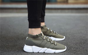 Cheap Autumn winter 2019 new men's platform sneakers outdoor men's sneakers air cushion basketball shoes39-44