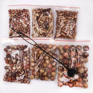 500pcs cabelo trança dreadlock contas Perucas Decoração Meninas de madeira talão impresso trança dreadlocks Beads Set DIY para acessórios