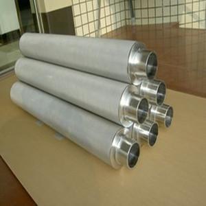 Filtro a rete sinterizzato a filo metallico poroso microporoso di alta qualità in metallo poroso sinterizzato al titanio dalla Cina