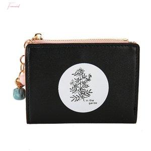 Wallet Women 2019 New Lady Short Wallet Simple Style Zipper Womens Wallet Small Money Bag Female Mini Coin Purses Cartera Mujer