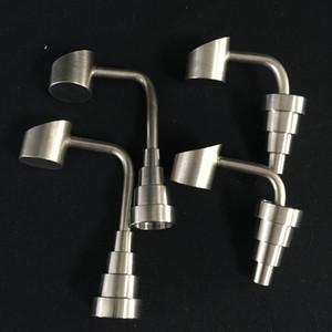 GR2 Evrensel Titanyum Çiviler Kubbe-az Bal Kovaları Fıskiye Banger Çivi 18.8mm 14.4mm 10mm Erkek Kadın ortak 6 in 1 Titanyum Tırnak