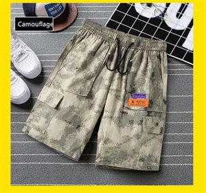 Mens 2020 Stilisti lusso casual tasca Big Mens Shorts Moda coulisse Relaxed Cargo Pantaloni corti