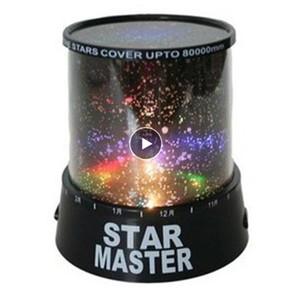Increíble romántico colorido Cosmos Star Master LED STAR SKY Proyector Night Light Lamp Strars Techo