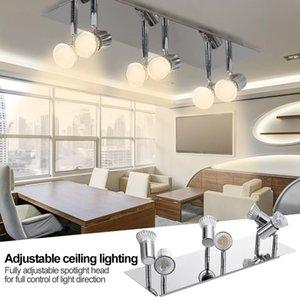 Innenleichtathletik-LED-Leuchten Einfacher Multi -Leiter Spotlight Schienen-Licht Moderne Lampen-Wand Fokus-Punkt-Lichter Led Spotlight