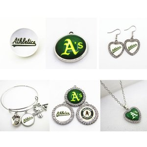 Charms US squadra di baseball Oakland Athletic fascini ciondola Sport fai da te collane gioielli ciondolo Hanging Charms