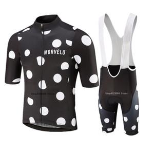 Morvelo 2020 Cycling Kit Mens Short Sleeve Radtrikot Set Men Go Pro Triathlon Skinsuit Ropa Ciclismo Sommer Bike Uniform