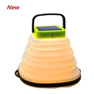 Luz da lâmina do ventilador dobrável 2 cores escolher forfolding lâmpada de barraca de acampamento solar ao ar livre luz inflável LED camping light (20-Pack)