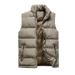 2019 kış eiderdown pamuk kolsuz yaka MA3 jia3 M-6XL yelek kişinin ahlak erkek moda yakışıklı gençlik sıcak yetiştirmek