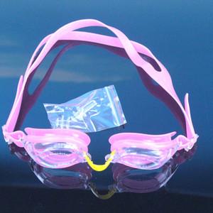 الصيف جودة عالية السباحة نظارات 5465654DFRE نظارات السباحة للماء ومكافحة الضباب الأذن التوصيل كليب