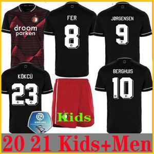 20 21 Feyenoord soccer jersey BERGHUIS football shirt JORGENSEN KOKCU camisa de futebol SINISTERRA camiseta de fútbol TOORNSTRA maillot foot