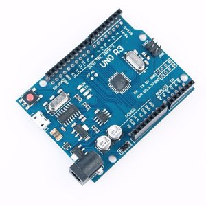 1PCS UNO R3 ATMEGA328P-AU kompatibel CH340G für Arduino mit Micro USB DIY KIT